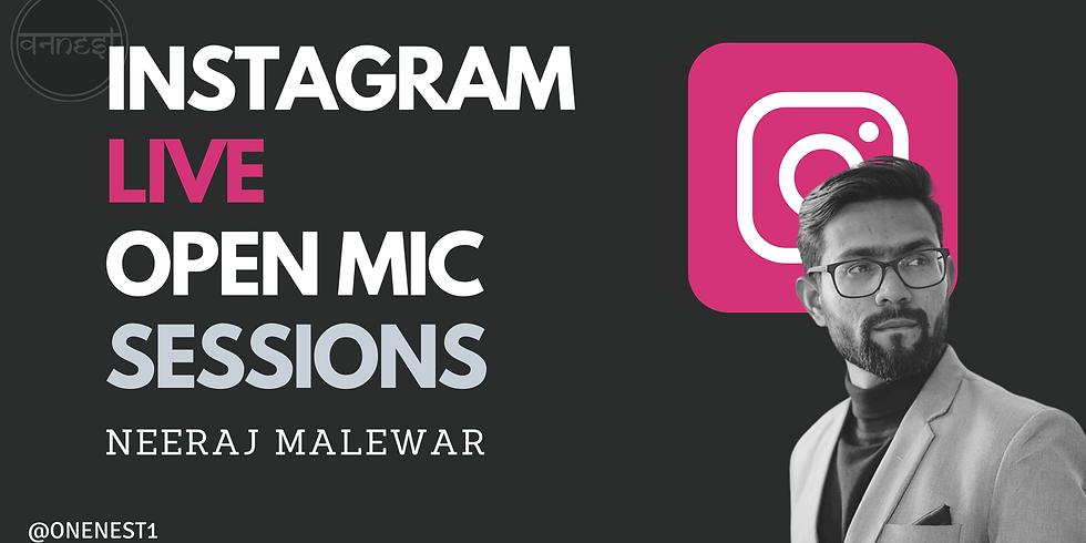 Instagram Live With Neeraj Malewar 3