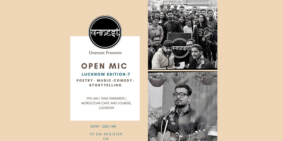 Open mic- Lucknow Edition -7