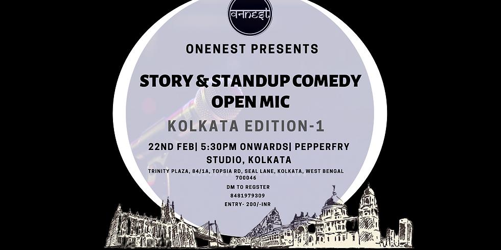 Story and Standup comedy open mic- Kolkata edition 1