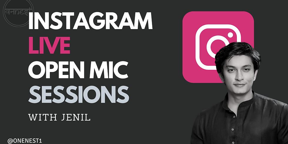 Instagram Live With Jenil -3