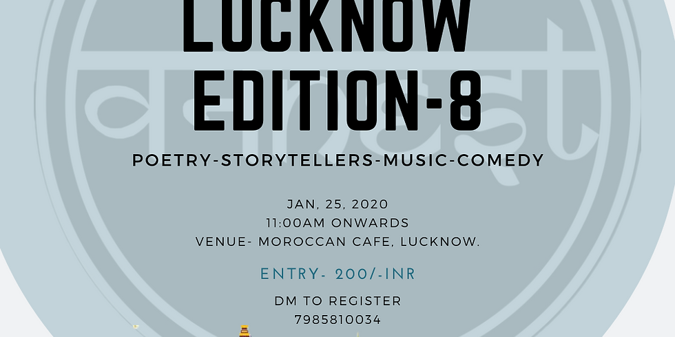 Open mic- Lucknow Edition -8