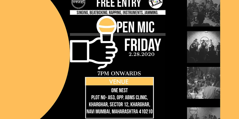 Music Open mic ft Cocktail production