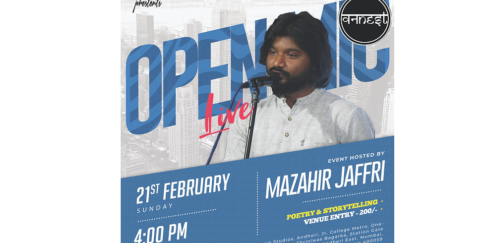 Poetry and Storytelling Open mic - Andheri  (1)