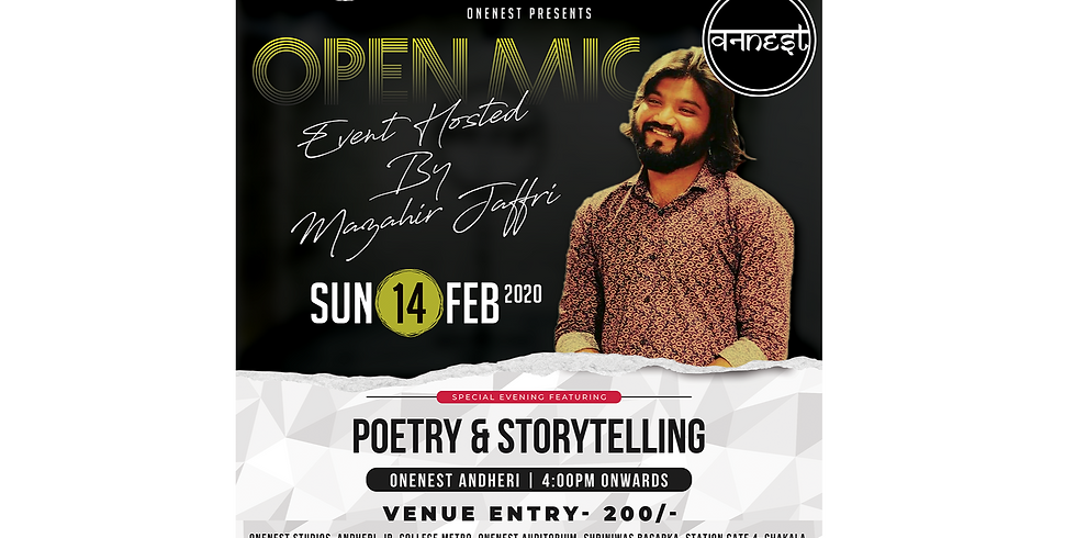 Poetry and Storytelling Open mic - Andheri