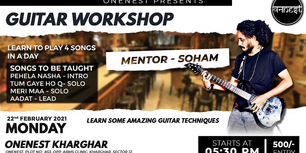 Guitar workshop - Onenest Kharghar