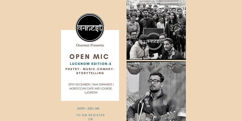 Open mic- Lucknow Edition -6