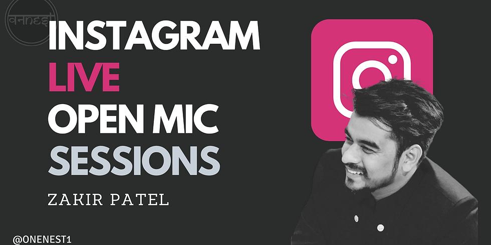 Instagram Live With Zakir patel -5