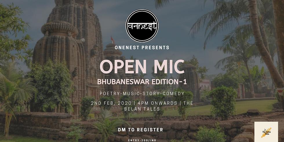 OPEN MIC  BHUBANESHWAR EDITION -1