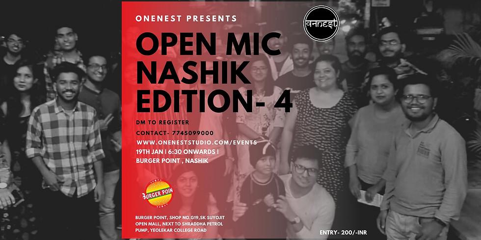 OPEN MIC  NASHIK EDITION -4