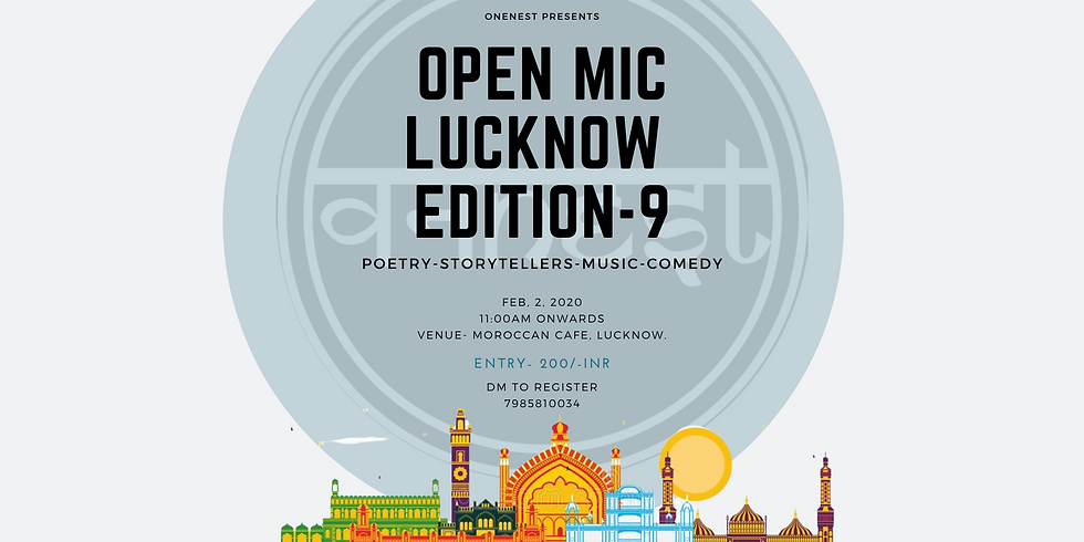 Open mic- Lucknow Edition -9