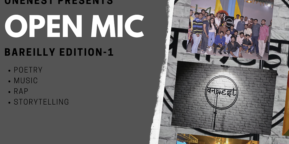Open mic-Bareilly Edition 1
