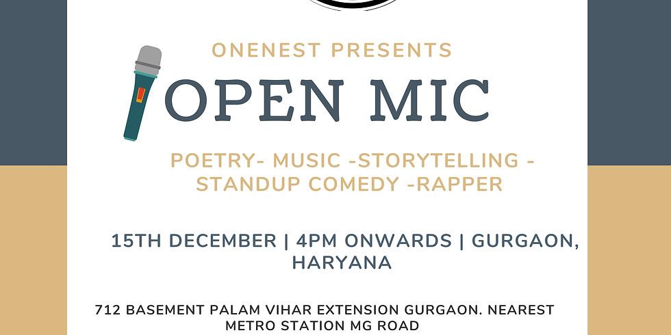 Open mic- HARYANA EDITION 1