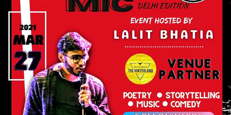Open mic - Delhi edition