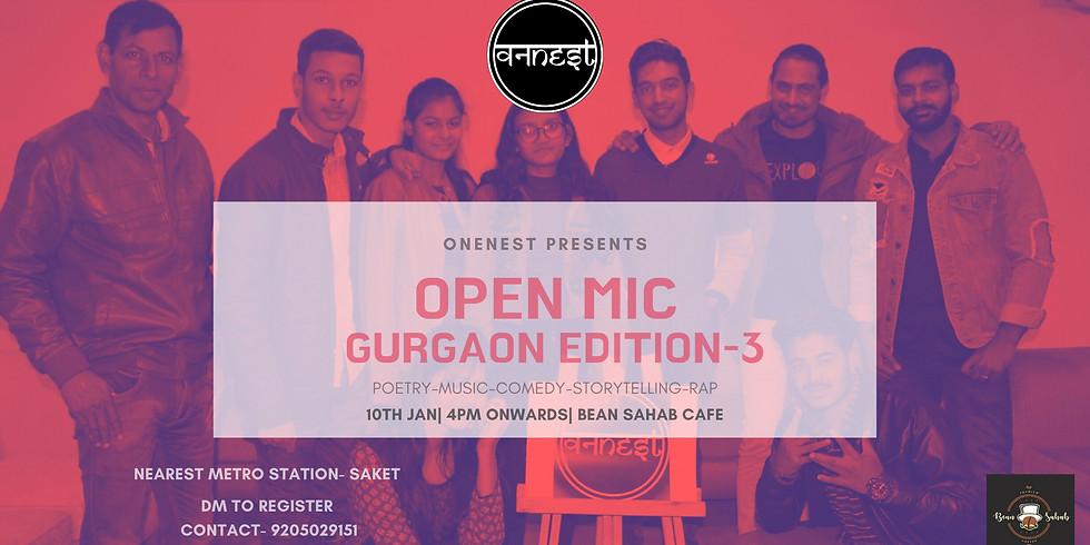 Open mic-GURGAON EDITION