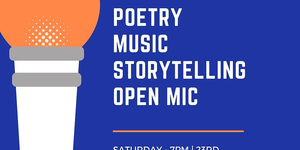 Poetry- Storytelling- Music Open mic - Delhi Edition 3