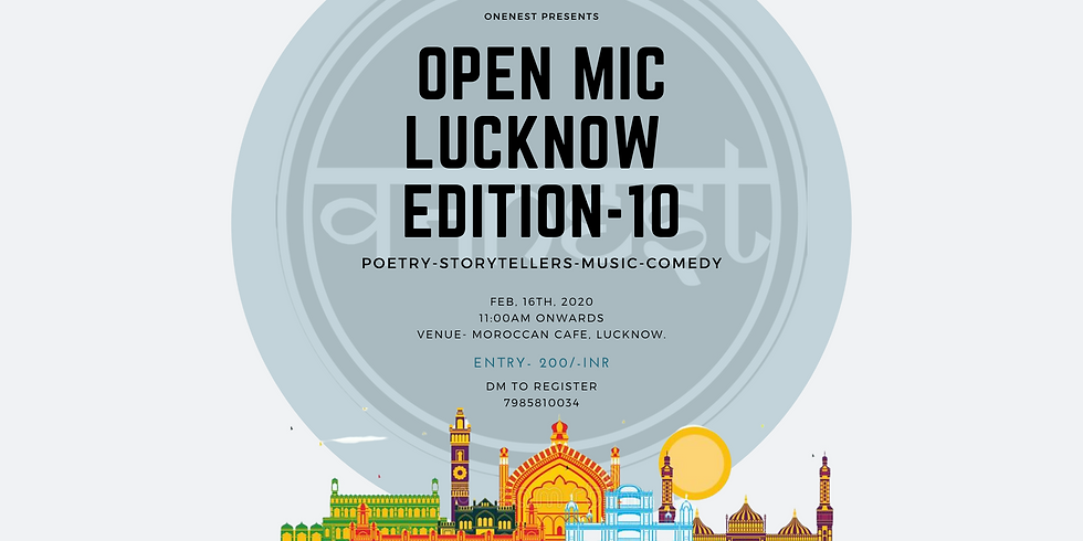 Open mic- Lucknow Edition -10