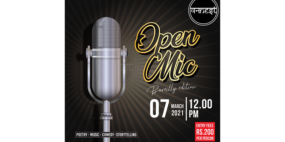 Open mic Bareilly edition