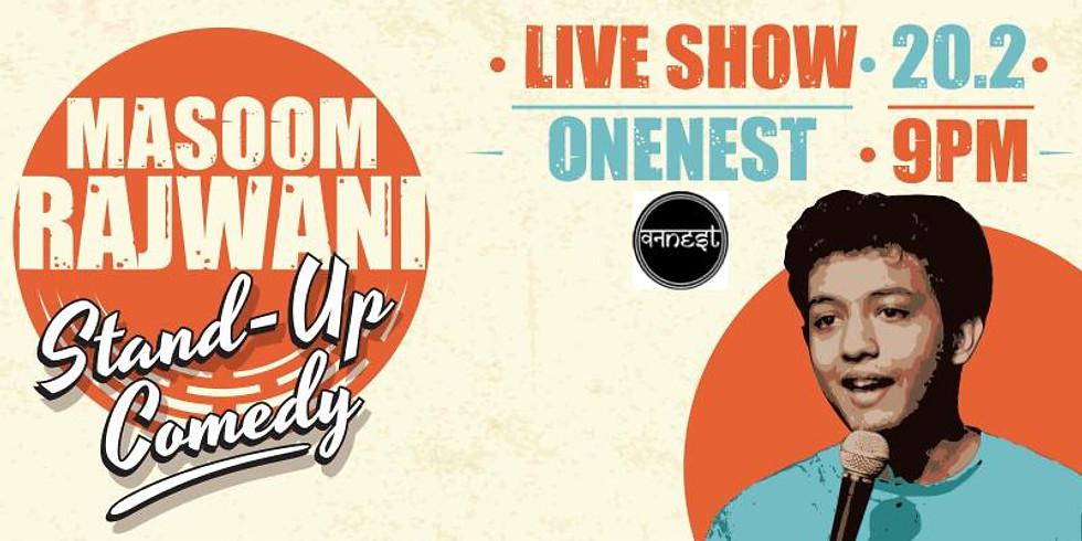 ONENEST KHARGHAR: Masoom Rajwani Live!