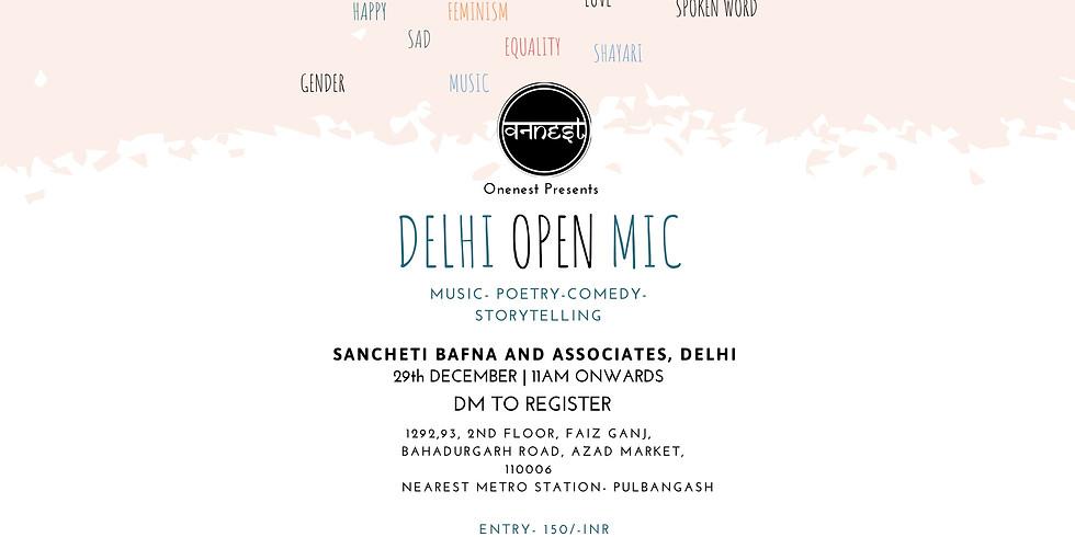 Open mic- Delhi Edition 7