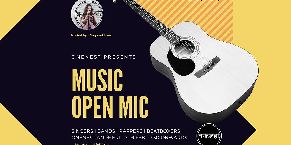 Music Open mic - Onenest Andheri