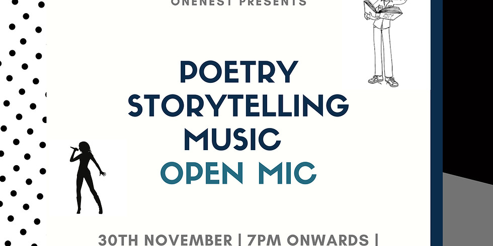 Poetry- Storytelling- Music Open mic