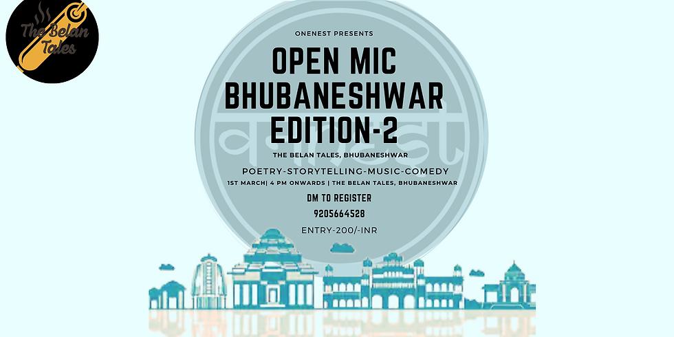 OPEN MIC  BHUBANESHWAR EDITION -2
