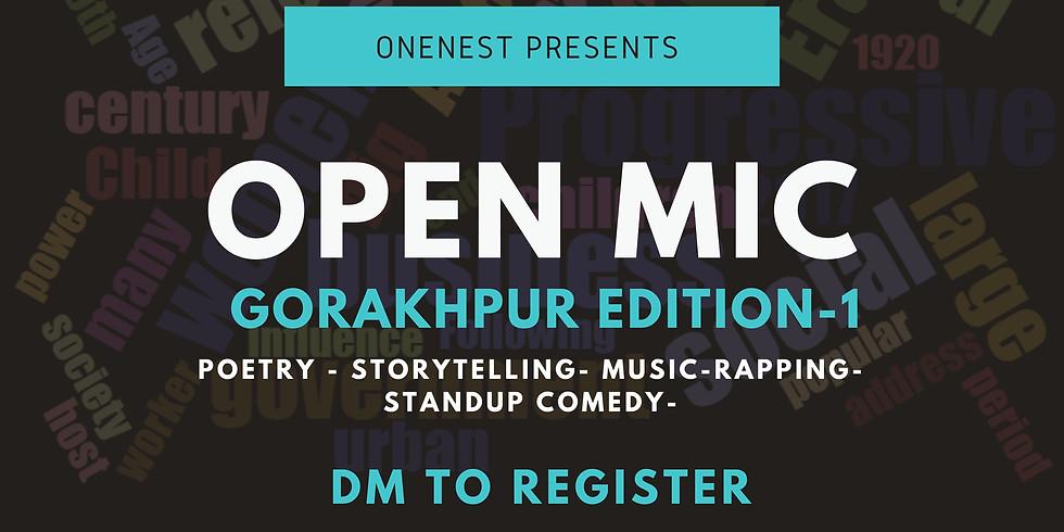 Open mic- Gorakhpur Edition -1