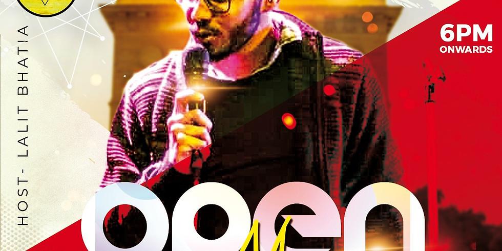 Open mic Delhi