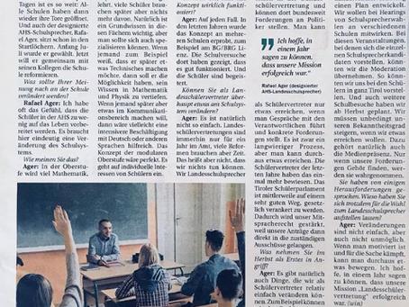 LSV in der Tiroler Tageszeitung