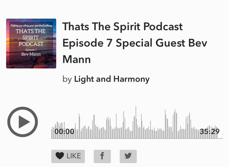 Guest appearance on That's The Spirit Podcast Episode 7