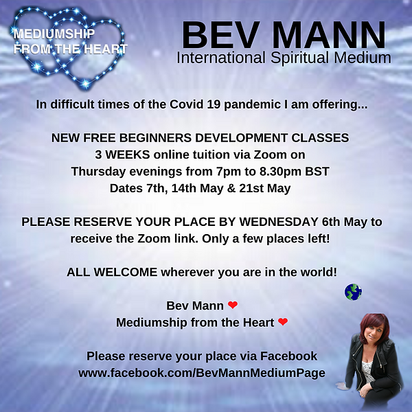 BEGINNERS PSYCHIC AND MEDIUMSHIP DEVELOP
