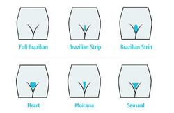 brazilian wax styles