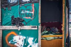 3. Vivir  en el campo de refugiados de Calais