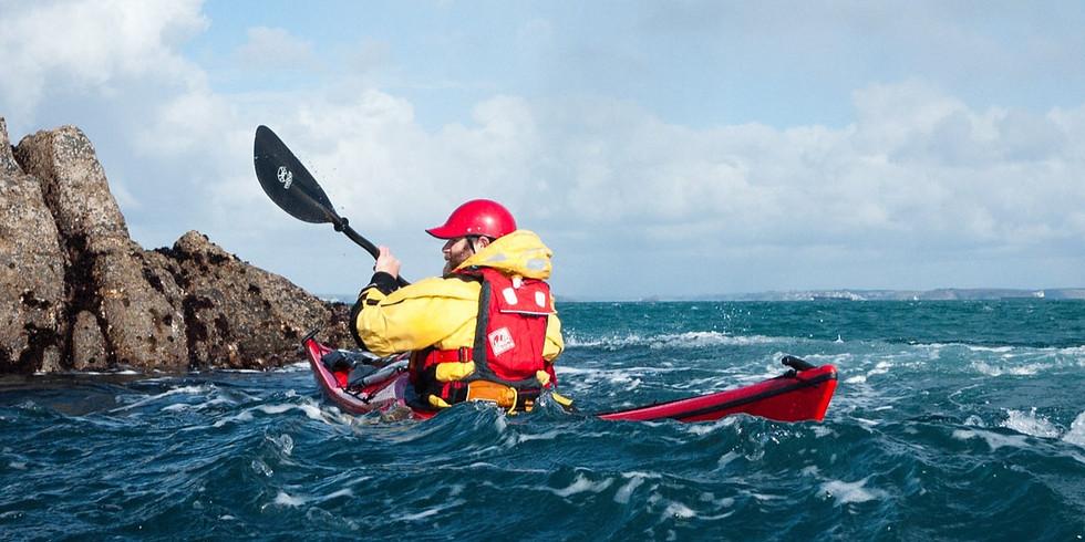 Sea Kayak Leader Training with Richard Uren