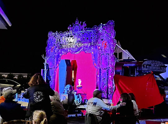 Outdoors touring stage