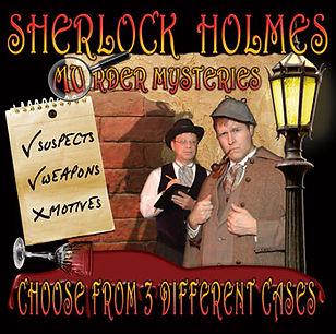 Sherlock Holmes Murder Mystery