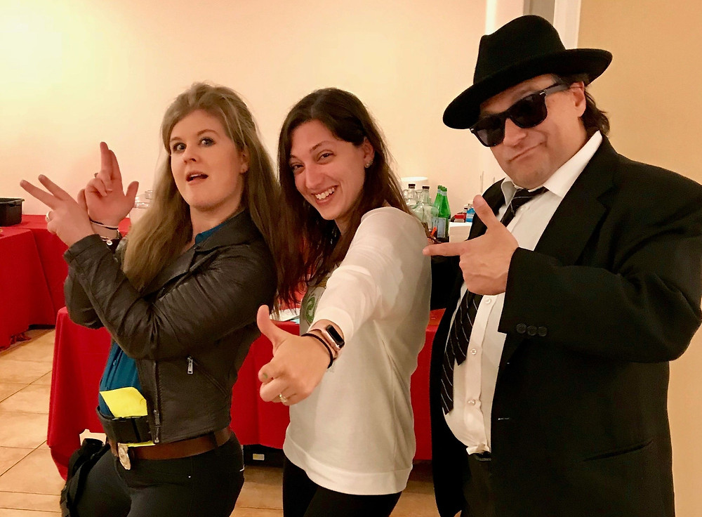 characters at murder mystery booking