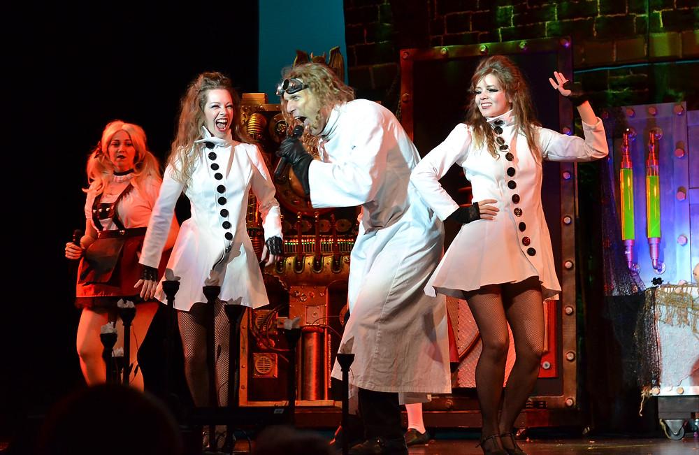 Costumes for riddlesbrood Frankenstein