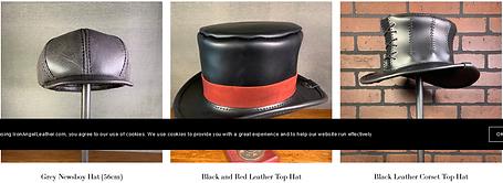 Headware         Iron Angel    Leather.p