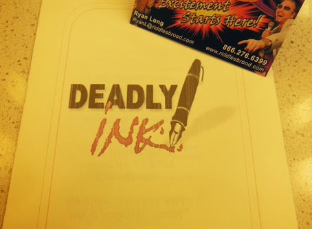 Official Theater Company for Deadly Ink Murder Mystery Writer's Conference