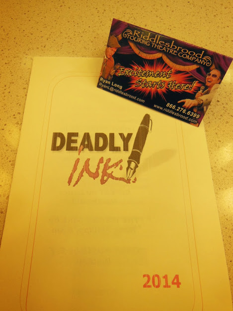 official murder mystery company of Deadly Ink