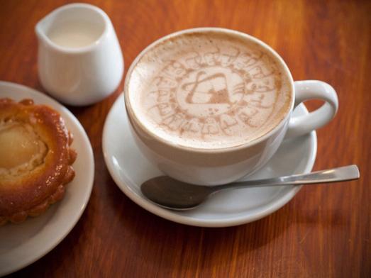 Riddlesbrood Logo in Coffee