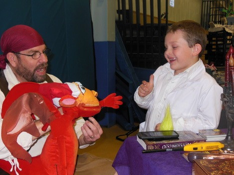 Jersey devil puppet