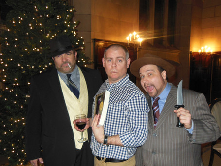 New Year's Eve Murder Mystery Party