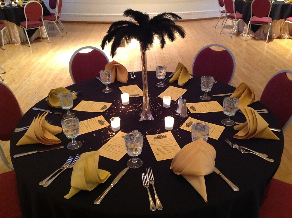 murder mystery table settings 3