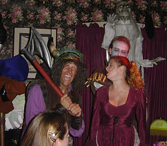 halloween madhouse dinner show