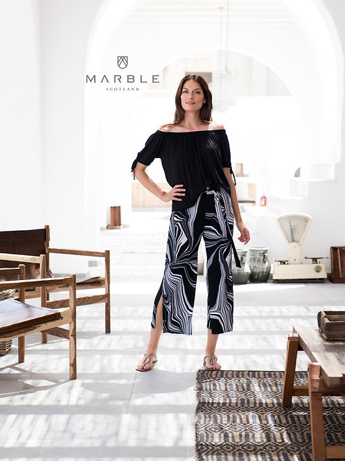 Marble Effect Culottes