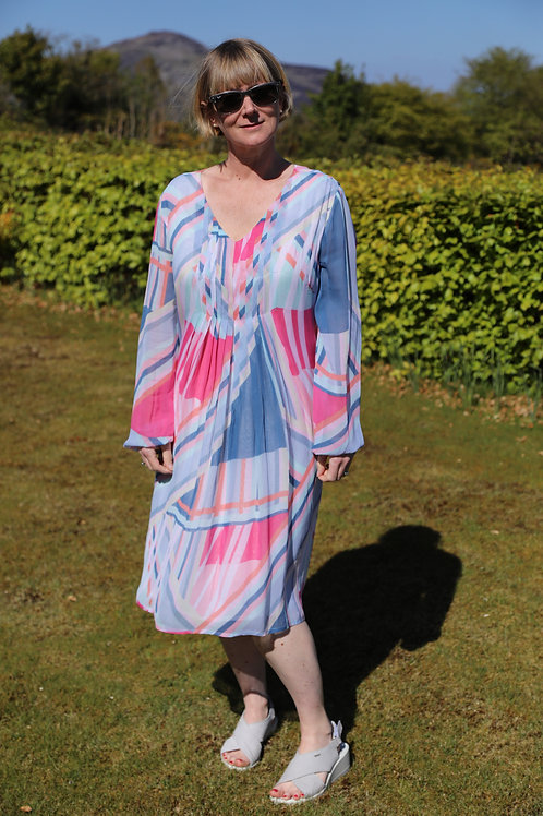 Geometric Tunic Dress