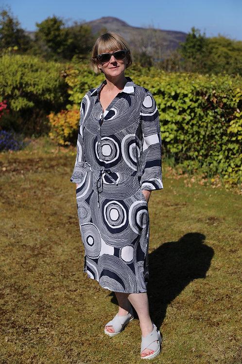 Circle Shirt Dress