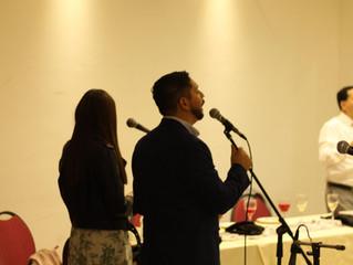 Cena Recepción Obispo Juan Ormeño y Pastora Diaconisa Alicia Parada